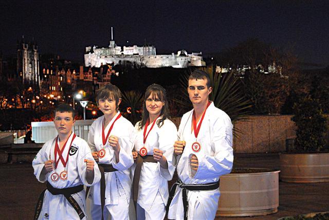 NIKW Kumite Squad Edinburgh