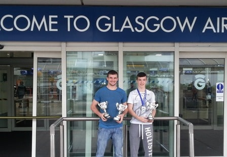 James & Craig Success at British Open Tournament