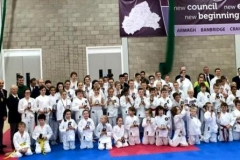 Winners at the NI Karate Board championships