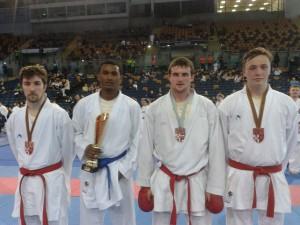 James Brunton (3rd from left)