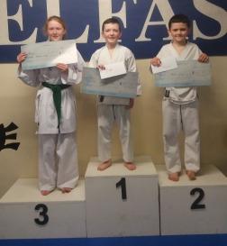1st Adam Rooney; 2nd Ross Dougan; 3rd Katelynn McCracken